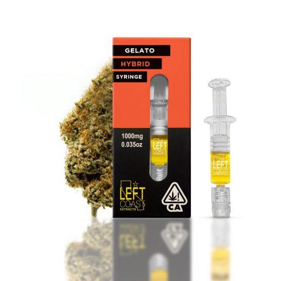 Gelato OG Distillate Syringe